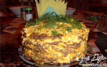 Рецепт Мой печеночный торт