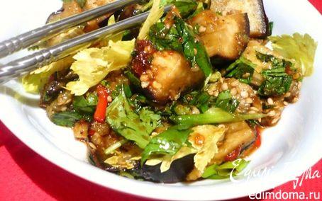 Рецепт Баклажаны по-азиатски в пароварке