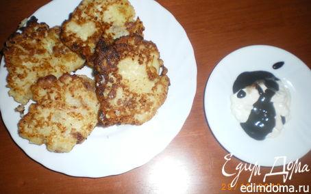 Рецепт Сырники с яблоком