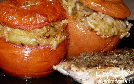 Рецепт Фаршированые помидоры по-гречески