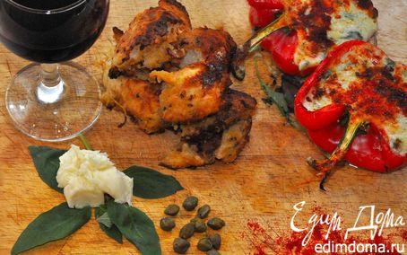 Рецепт Перец – 4 сыра (Peperoni Al Forno Quattro Formaggi )