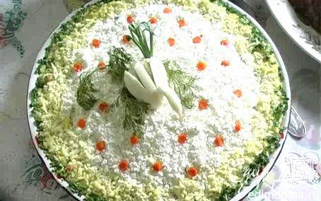 """Рецепт Салат """"Невеста"""""""