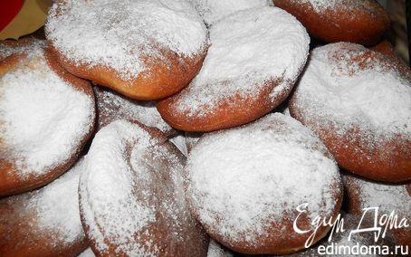 Рецепт Пончики с начинкой и без в хлебопечке