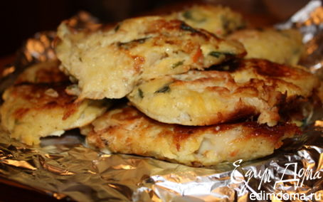 Рецепт Рыбка под картофельной шубкой