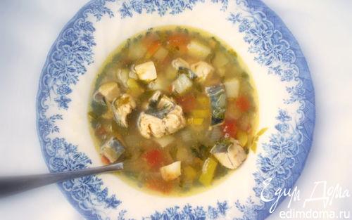 Рецепт Рыбный суп по-тунисски