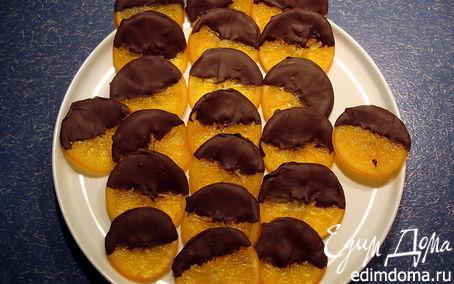 Рецепт Апельсины в шоколаде