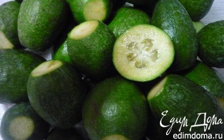 Рецепт Варенье из фейхоа с цитрусовыми без термической обработки