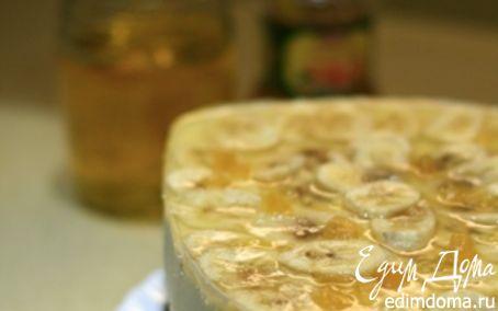 Рецепт Творог+сливки+банан