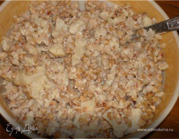 Каша Гречневая с цветной капустой и молоком