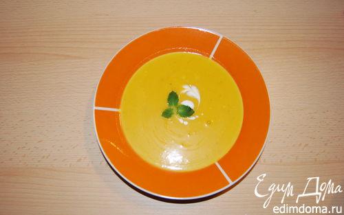 Рецепт Пряный тыквенный суп
