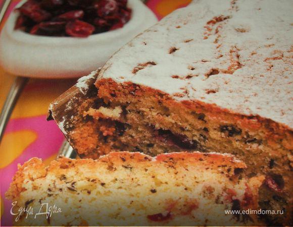 Бостонский пирог с кедровыми орехами