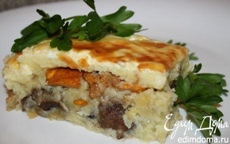 Рецепт Картофельно-грибная запеканка