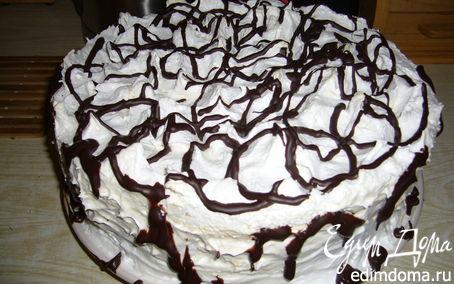 Рецепт Торт сливочно-шоколадный с черносливом