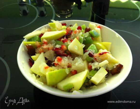 Зимне-восточный салат