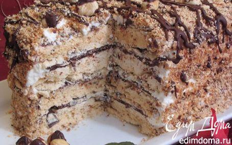 Рецепт Ореховый торт-безе