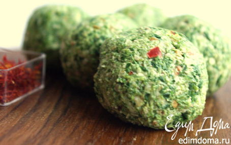 Рецепт Пхали из шпината и кинзы