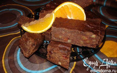 Рецепт Шоколадный кекс с финиками