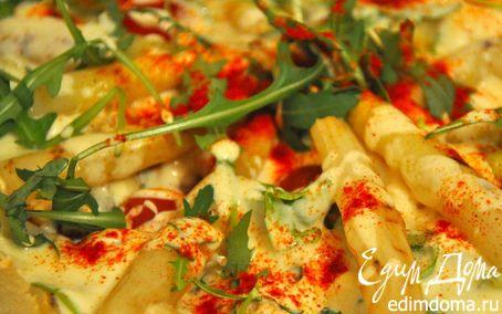 Рецепт Рыбный салат с белой спаржей