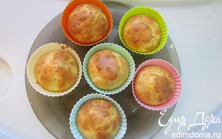 Рецепт Закусочные маффины с сырками и чесноком