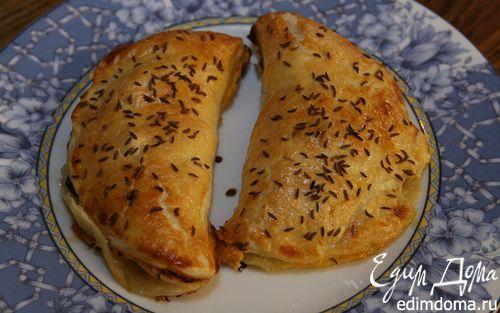 Рецепт Пирожки со шпинатом и грушей