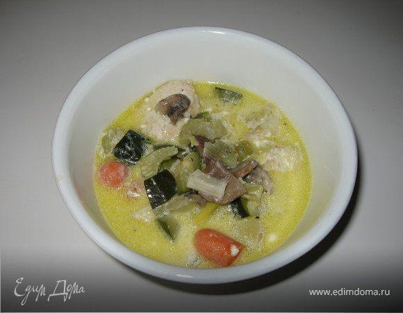 Шонькин суп из латука
