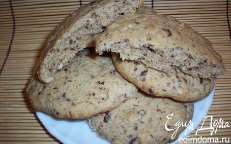 Рецепт Печенье овсяное с шоколадом