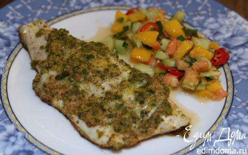 Рецепт Рыба в фисташковой корочке