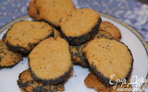 Рецепт Сырное печенье с маком