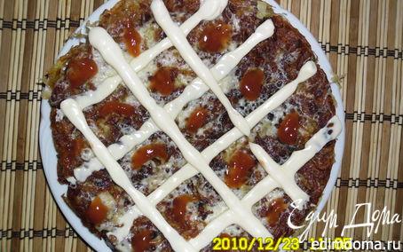 Рецепт Ленивая картофельная пицца
