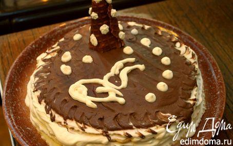 Рецепт Домашний вафельный торт в вафельнице