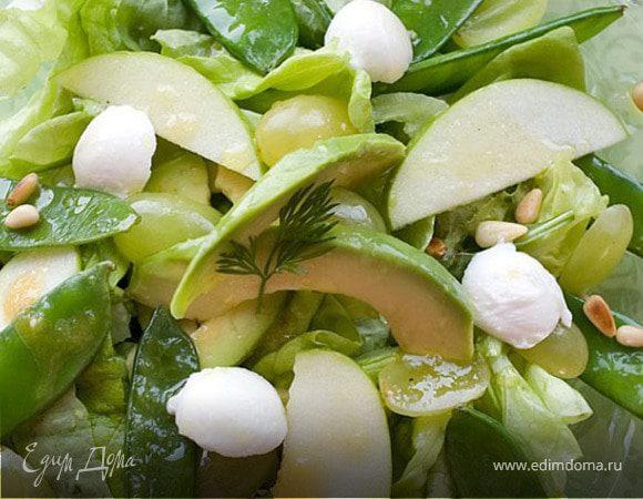 Салатик в зеленых тонах
