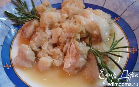 Рецепт Рыба с имбирём и кунжутом Wok