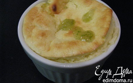 Рецепт Творожное суфле с лаймом
