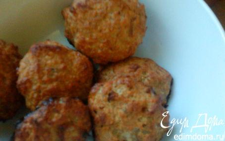 Рецепт Котлеты из тунца с орехами