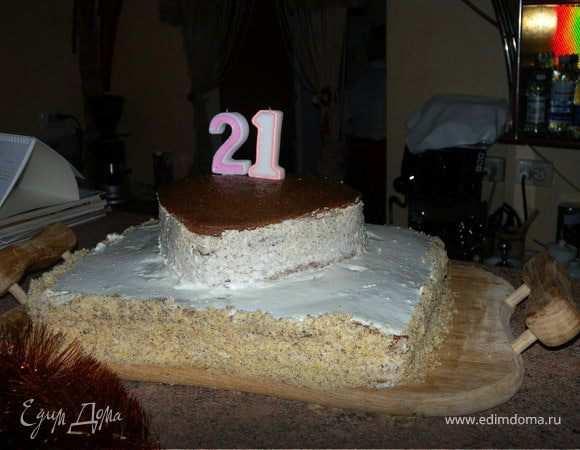 Торт без названия (ко дню рождения мужа)