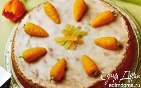 Рецепт Швейцарский Морковный торт