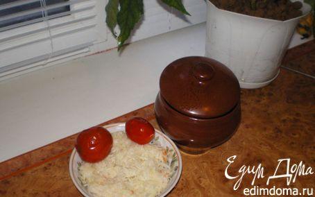 Рецепт Картошечка в горшочках с мясом и грибами