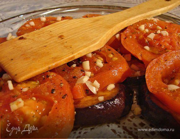 Баклажаны с соевым соусом