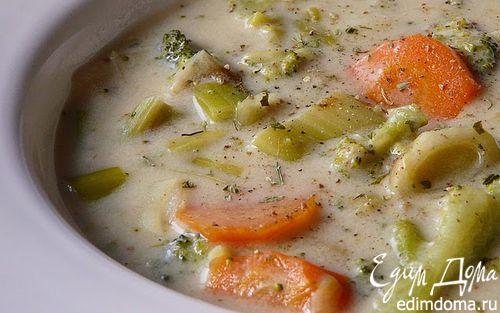 Рецепт Суп-крем с брокколи