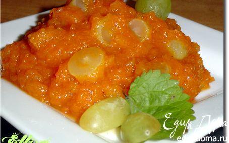 Рецепт Чатни из тыквы и яблок с виноградом