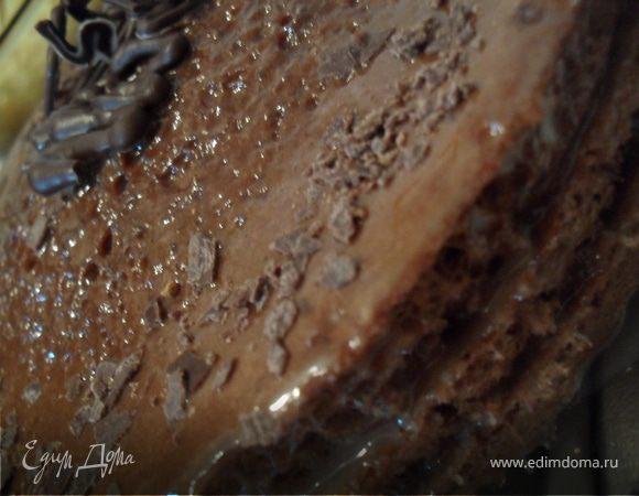 """Шоколадный торт """"Пальчики оближешь"""""""