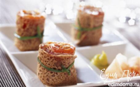 Рецепт Galette sashimi
