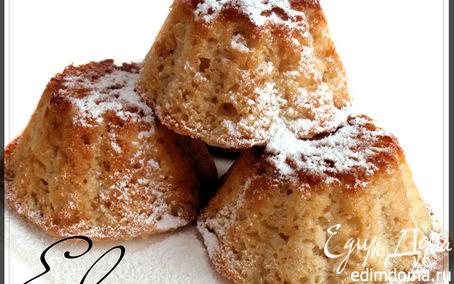Рецепт Яблочно-овсяные кексы