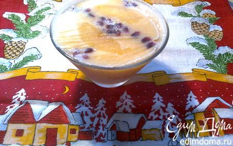 Рецепт Мандариновое мороженое