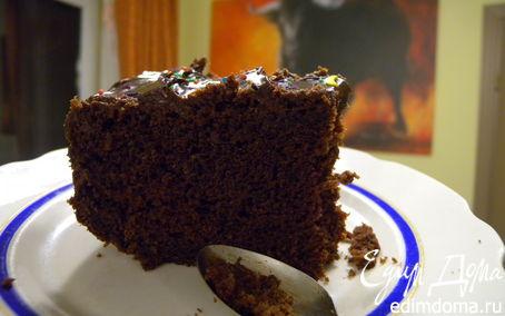 Рецепт Бисквит на кипятке шоколадный