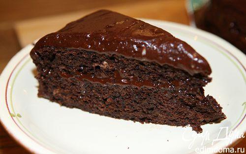 Рецепт Торт «Дьявольское пирожное»