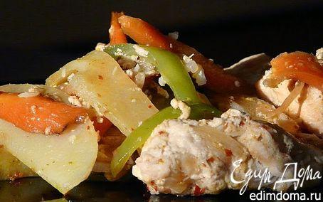 Рецепт Куриное карри в филиппинском стиле