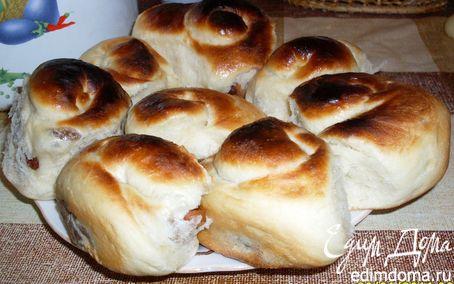 Рецепт Сдобное дрожжевое тесто и булочки