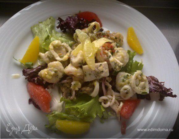 Салат Seefood