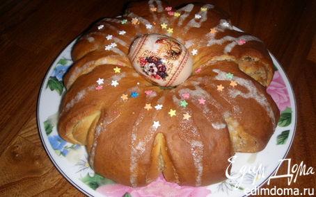 Рецепт Пасхальный цветок от Ольги